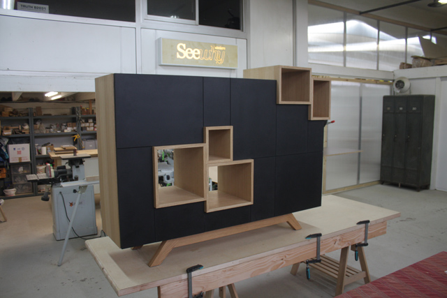 Ateliers seewhy conception r alisation prototypage for Assemblage meuble mdf
